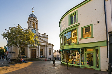 View of architecture on London Street, Norwich, Norfolk, England, United Kingdom, Europe