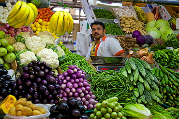 Vegetable and Meat Market, Al Ain, Abu Dhabi, United Arab Emirates, Middle East