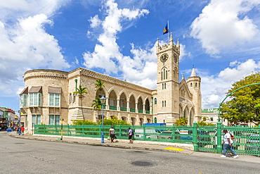 View of Parliament Building, Bridgetown, Barbados, West Indies, Caribbean, Central America