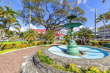 View of Derek Walcott Square, Castries, St. Lucia, Windward Islands, West Indies Caribbean, Central America