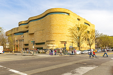 View of National Museum of the American Indian, Washington D.C., United States of America, North America