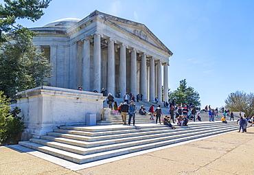 View of the Thomas Jefferson Memorial, Washington D.C., United States of America, North America