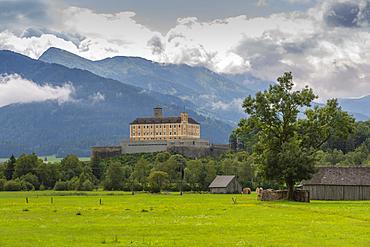 View of Trautenfels Castle, Schloss Trautenfels Museum, Unterburg, Styria, Austria, Europe