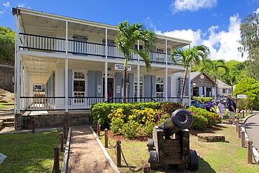 Museum, Nelson's Dockyard, Antigua, Leeward Islands, West Indies, Caribbean, Central America