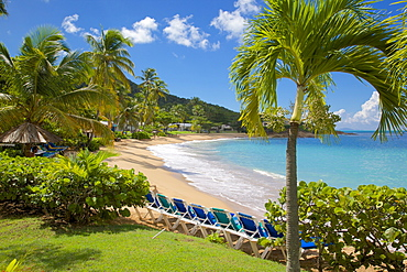 Hawksbill Bay and Beach, St. Johns, Antigua, Leeward Islands, West Indies, Caribbean, Central America