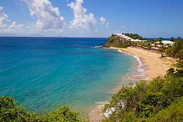 Grace Bay and Beach, St. Mary, Antigua, Leeward Islands, West Indies, Caribbean, Central America