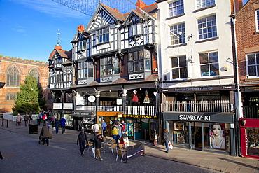 Bridge Street, Chester, Cheshire, England, United Kingdom, Europe