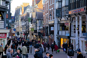 Eastgate Street, Chester, Cheshire, England, United Kingdom, Europe