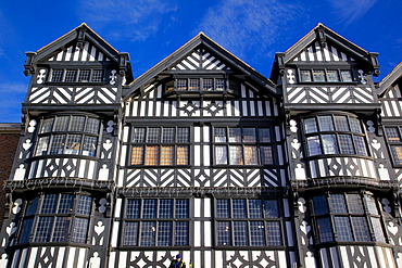 The Rows on Bridge Street, Chester, Cheshire, England, United Kingdom, Europe