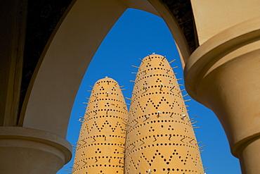 Pigeon Tower, Katara Cultural Village, Doha, Qatar, Middle East