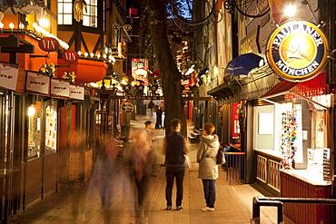 Street scene, Tivoli Gardens, Copenhagen, Denmark, Scandinavia, Europe