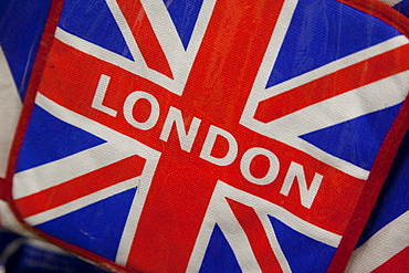 Souvenir Union Jack, London, England, United Kingdom, Europe