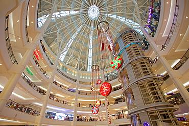 Suria KLCC Shopping Mall at Christmas, Kuala Lumpur, Malaysia, Southeast Asia, Asia