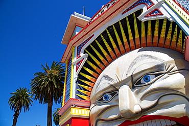 St Kilda, Luna Park Entrance, Melbourne, Victoria, Australia, Oceania
