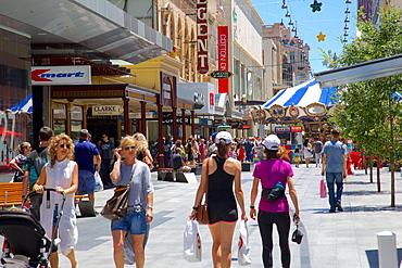 Rundle Mall, Adelaide, Australia, Oceania