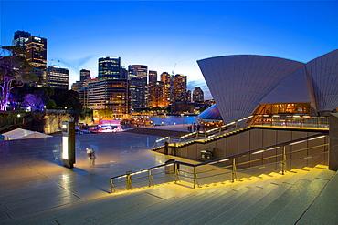 Sydney Opera House at Dusk, Sydney, New South Wales, Australia, Oceania