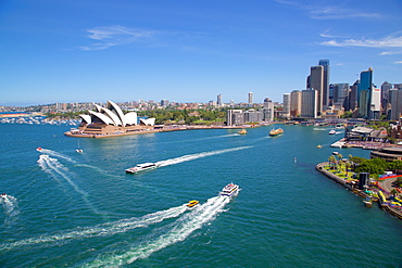 Sydney Opera House and Harbour, Sydney, New South Wales, Australia, Oceania