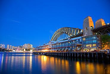 Sydney Harbour Bridge, Sydney, New South Wales, Australia, Oceania