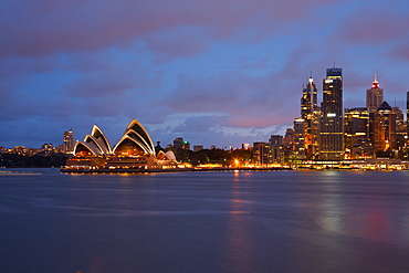 Opera House from North Sydney, Sydney, New South Wales, Australia, Oceania