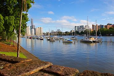 Brisbane River and Story Bridge, Brisbane, Queensland, Australia, Oceania