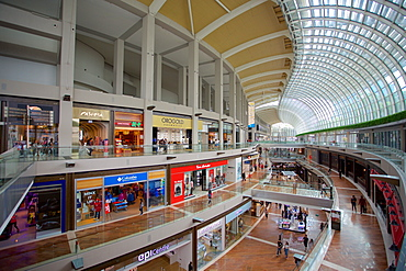 Marina Bay Sands Shopping Mall Interior, Singapore, Southeast Asia