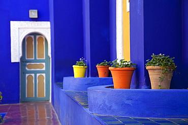 Majorelle Gardens, Marrakesh, Morocco, North Africa, Africa