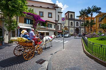Piazza Sant Antonino, Sorrento, Campania, Italy, Europe