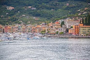 Santa Margherita Ligure harbour, Genova (Genoa), Liguria, Italy, Europe