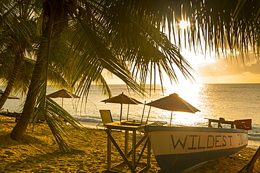Smugglers Cove Beach, Holetown, St. James, Barbados, West Indies, Caribbean, Central America