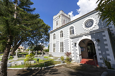 St. Mary's Church, Bridgetown, St. Michael, Barbados, West Indies, Caribbean, Central America