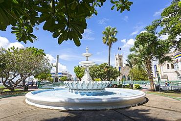 National Heroes Square, Bridgetown, St. Michael, Barbados, West Indies, Caribbean, Central America