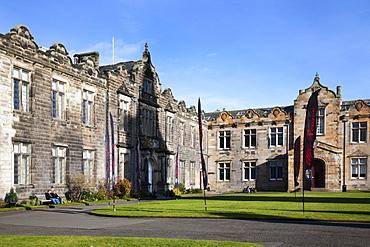St Salvators College Quad, St Andrews, Fife, Scotland
