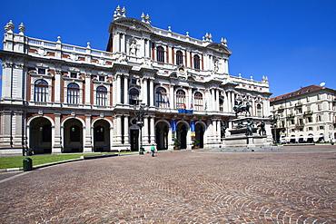 National Museum of the Italian Risorgimento in Palazzo Carignano, Turin, Piedmont, Italy, Europe