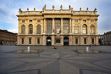 Museum of Ancient Art at Palazzo Madama in Piazza Castello, Turin, Piedmont, Italy, Europe