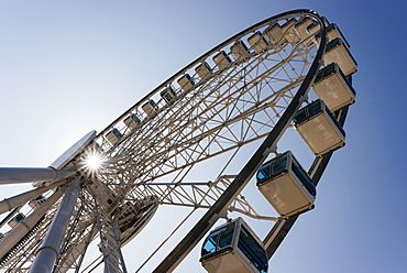 The Hong Kong Observation Wheel, Central, Hong Kong, China, Asia