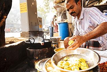 Street food stall, Mumbai, India, South Asia - 848-1134