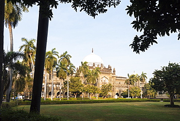Exterior of Prince of Wales museum, Mumbai (Bombay), India, South Asia