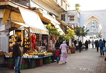 Street Scene in the Medina, Tangier, Morocco, North Africa, Africa