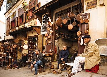 Place Seffarine, Medina, Fes el Bali, Fes, Morocco, North Africa, Africa