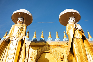 Kyaw Aung San Dar monastery, Amarapura, Mandalay, Mandalay Region, Myanmar (Burma), Asia
