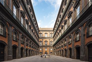 Biblioteca Nazionale di Napoli Vittorio Emanuele III, Naples, Campania, Italy, Europe