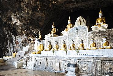Yathe Byan Cave, Hpa-an, Kayin State, Myanmar (Burma), Asia