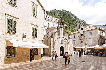 St. Lukes Church, Stari Grad (Old Town) of Kotor, Bay of Kotor, Montenegro, Europe