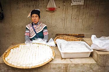 Xinjie Local Market, Yuanyang, Yunnan Province, China, Asia