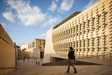 New Parliament Building, Valletta, Malta, Europe