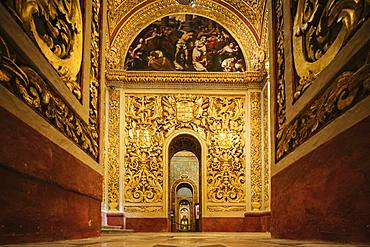 Interior of St. John's Co-Cathedral, Valletta, Malta, Europe