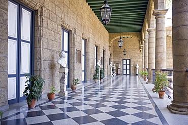 Palacio de los Capitanes Generales, Havana, Cuba, West Indies, Central America