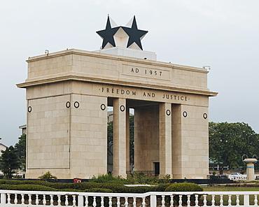Black Star Gate, Accra, Ghana, Africa