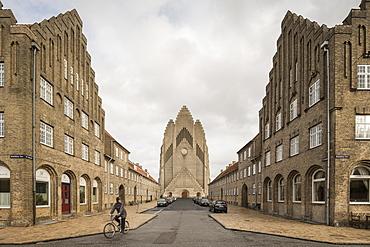 Grundvigs Church, Copenhagen, Denmark, Scandinavia, Europe