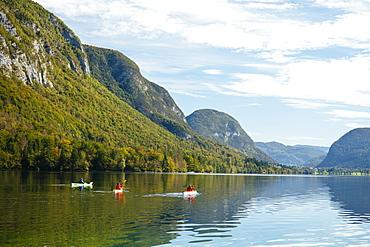 Lake Bohinj, Triglav National Park, Upper Carniola, Slovenia, Europe